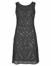 PER UNA Speziale Hand Embellished Fit & Flare Dress Size UK20/EUR48 BNWT