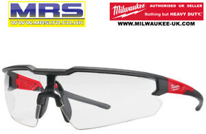 MILWAUKEE SAFETY GLASSES - CLEAR LENS - 4932471881