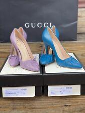 Gucci Nappa Carlotte Pumps Shoes