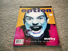 * Option issue 62 * June 1995 * Moby Massive Attack Kendra Smith El Vez