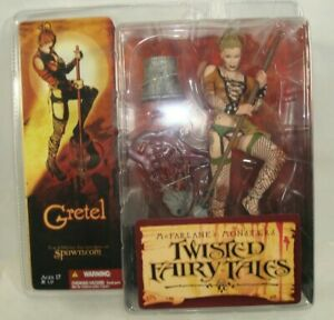 GRETEL McFarlanes Monsters Twisted Fairy Tales Spawn 2005 Series 4 Action Figure