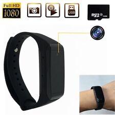 Bracelet Watch HD 1080P SPY Hidden Camera DVR Video Recorder Wrist Security 32GB