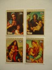 Niue QEII 1980 SG375-9 20-35c MNH Christmas