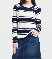 Tommy Hilfiger Women's sweater  jumper NORISA cream/blue L