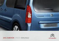 Citroen Berlingo Zubehör Prospekt 2012 14.3.12 brochure accessoires accessories