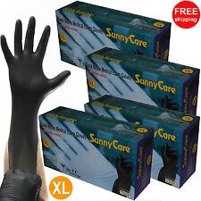 400- 5mil Black Nitrile Exam Gloves Powder-Free (Latex Vinyl Free) Size: X-Large