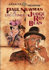THE LIFE AND TIMES OF JUDGE ROY BEAN. Paul Newman. Region free. New DVD.