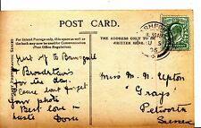 """Family History Postcard - Upton - """"Grays"""" - Petworth - Sussex - Ref 1184A"""