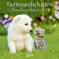 CALENDARIO 2021 FAMILY ANIMALS da parete cm 30x30 ANIMALI