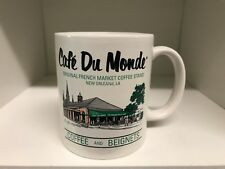 Cafe Du Monde Coffee Mug Cup Beignets French Market Coffee Stand New Orleans, LA