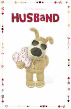 Boofle Wonderful Husband Valentine's Day Card Cute Greeting Cards