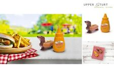 Hot Dog and Mustard Salt and Pepper Shaker Set S & P FAST 'N FREE DELIVERY