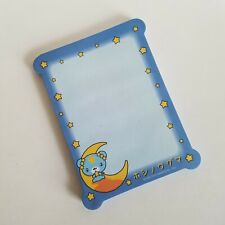 Hoshinowaguma Blue Bear Star Moon Note Pad Die Cut Office School Supplies Memo