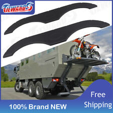 Black Trailer Fender Skirt For Rvs, Campers and Trailers Keystone Tandem Axle