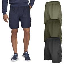 Bermuda Uomo Cotone Cargo Con Tasconi Laterali Pantalone Corto Shorts VEQUE