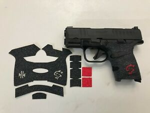 HANDLEITGRIPS LASER CUT TACTICAL GUN GRIP for Springfield Hellcat w/ mag grip