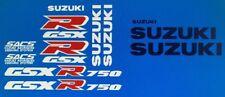 SUZUKI GSXR750 GSXR750M RESTORATION DECAL SET 1991
