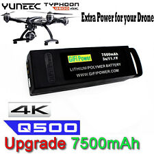 7500mAh 11.1V 3S Flight Lipo Battery For Yuneec Q500 4K Typhoon G RC Drone