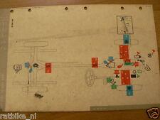 FORD CONSUL CORTINA  MOBIL OIL CHART 1963