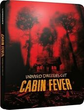 Cabin Fever Steelbook - UK Very Limited Edition Blu-ray Region *