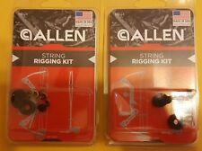 Lot of 2 Allen Company String Rigging Kits-Buck Hunt Archery Bow Nocks-FAST SHIP