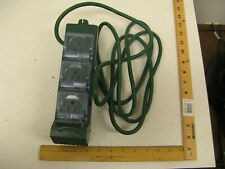 Vintage Stanley  SP-011B  6-Outlet Timer Outdoor Extension Cord 9 Ft. 1875 Watt