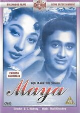 MAYA - DEV ANAND - MALA SINHA - NEW BOLLYWOOD DVD - FREE UK POST