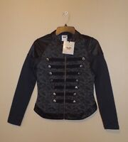 Genuine Harley-Davidson Womens Lace Print Moto-Inspired Casual Jacket 96021-17VW