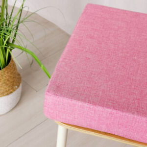 Square Sponge Chair Cushion Seat Pad Thick Indoor Office Garden Patio Mat Sofa