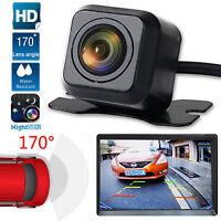 170° CMOS Waterproof Night Vision Car Rear View Reverse Backup Parking Camera HD