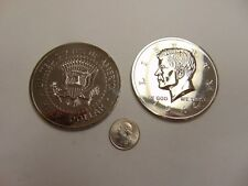 CHALLENGE COIN TOKEN SILVER COLOR NOVELTY JOHN F KENNEDY LIBERTY 1964