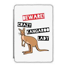 Beware Crazy CANGURO Lady Funda para Kindle Paperwhite - Divertido Australia