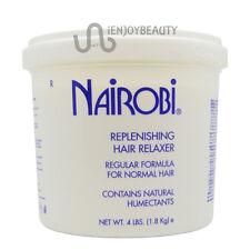 Nairobi Replenishing Hair Relaxer Regular Formula 4lbs w/ Free Nail File