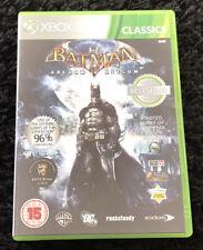 Batman: Arkham Asylum-Xbox Classics-Xbox 360-Completo En Caja