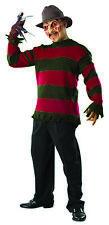 Deluxe Freddy Krueger Mens Sweater Nightmare On Elm Street Costume-XS