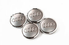 4 OEM Wheel Center Cap Badge 4B0601170A 69mm FOR AUDI A3 A4 A6 A8 S4 S6 RS4 RS6