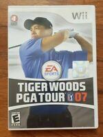 TIGER WOODS PGA TOUR 07 – NINTENDO WII – VIDEO GAME