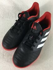 sale retailer 5b1e4 6b260 adidas JR Predator Tango 18.4 IN Kids Indoor Soccer Shoes DB2335 Youth Sz  ...