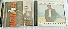 BRUCE SPRINGSTEEN LOT OF 2 CDS  THE RISING & TUNNEL OF LOVE