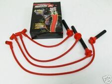 OBX SPARK PLUG WIRES RED Fit For 92-95 96-00 HONDA CIVIC ALL
