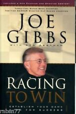 Racing to Win : Establish Your Game Plan for Success by Joe Gibbs (2003,...