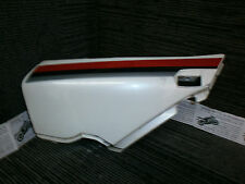 XJ600 Pre Diversion RH Side seat Panel Fairing Cover White with red