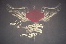 Harley Davidson Motor Cycles Barnett's Las Cruces New Mexico T-Shirt Mens M