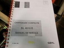 Ersatzteilbuch / Betriebsanleitung / Wartungsanleitung  Gehl 4610