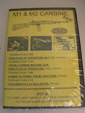 M1 & M2 CARBINE NATIONAL ARCHIVE COMPILED TRAINGING FILMS DVD NEW M-1 M-2 GUN