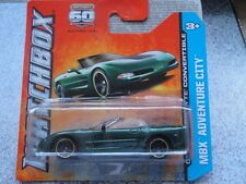 Matchbox 2013 #034/120 CHEVY CORVETTE CONVERTIBLE vert MBX Aventure city