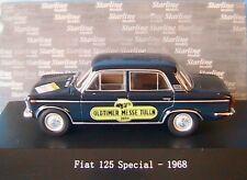 FIAT 125 SPECIAL 1968 OLDTIMER MESSER TULLN BLUE NOTTE