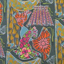 By 1/2 Yrd Fibs and Fables Dressmaker Flint Anna Maria Horner Free Spirit Fabric
