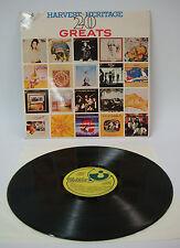 Various: the Gods, Deep Purple e molto altro. - Harvest Heritage 20 Greats | LP: NEAR MINT