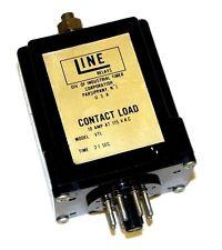 LINE MODEL VTL RELAY, TIME: .2-1 SEC, 10 AMP AT 115 VAC